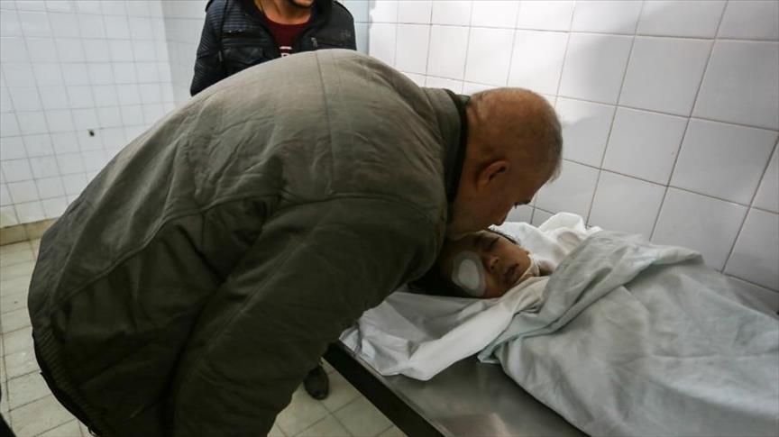 استشهاد طفل فلسطيني متأثرا بإصابته برصاص الصهيوني