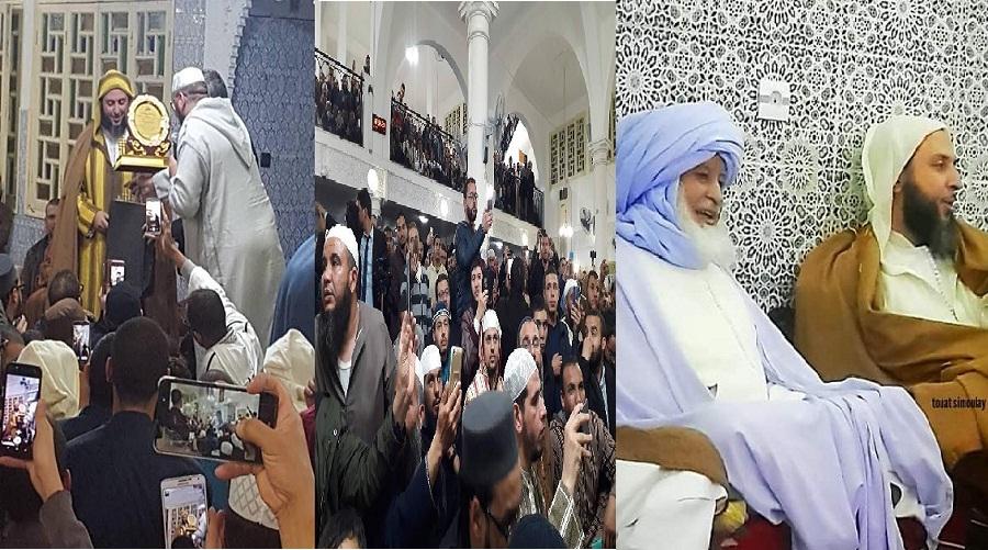 بالصور والفيديو.. استقبال حافل وتكريم بالجزائر للشيخ سعيد الكملي في رحلته العلمية الدعوية