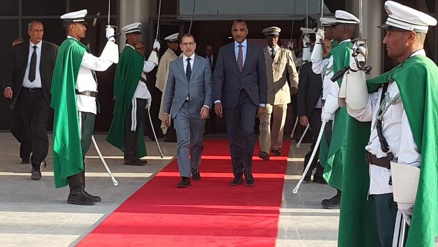 العثماني يبحث بنواكشوط مع نظيره الموريتاني آليات وأدوات تطوير العلاقات بين البلدين