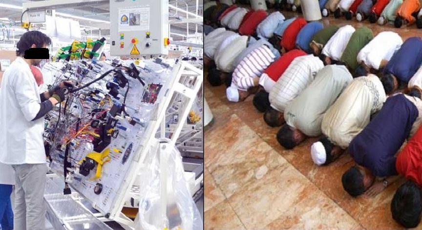 د. بنكيران: كيف يمنع عمال مغاربة مسلمون من أداء صلاتهم في شركة (الكابلاج) داخل بلدهم الإسلامي بنص الدستور؟!!