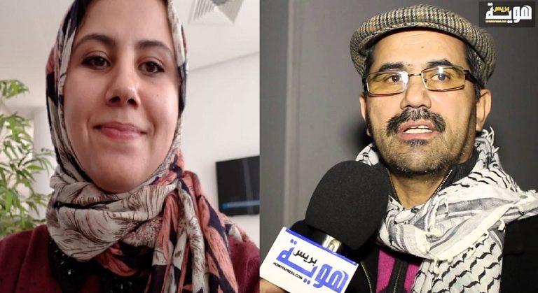 """شرطة مطار """"شارل لوروا"""" ببلجيكا توقف ابنة رئيس المرصد المغربي لمناهضة التطبيع أحمد ويحمان"""