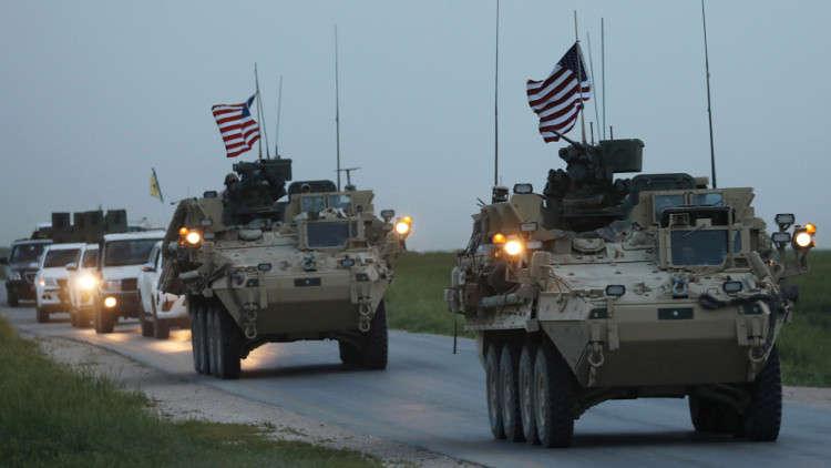 القوات الأمريكية تبدأ عملية الانسحاب من سوريا