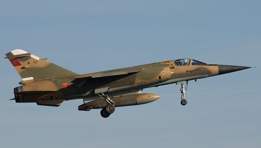 سقوط مروحية عسكرية مغربية قرب أوسرد بالصحراء ومصرع الطيار ومساعده!