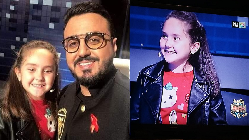 """سخط في فيسبوك ضد استضافة مريم أمجون في """"رشيد شو"""".. وآخرون أثنوا على الحقلة.. وهذه رسالة بطلة القراءة لأطفال المغرب!!"""