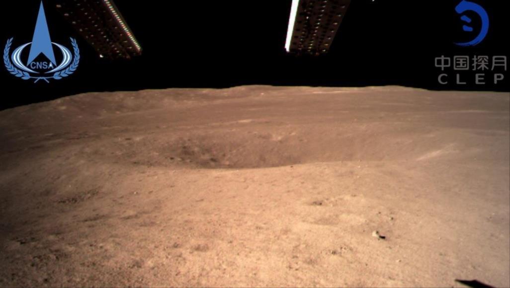 في إنجاز تاريخي.. المسبار الصيني يرسل أولى صور الجانب المظلم للقمر