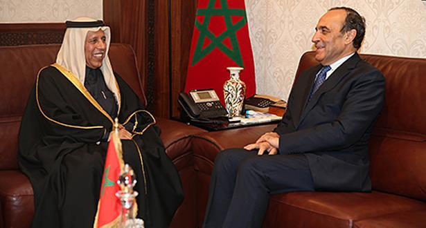 مباحثات مغربية قطرية حول سبل تكثيف التنسيق بين برلماني البلدين