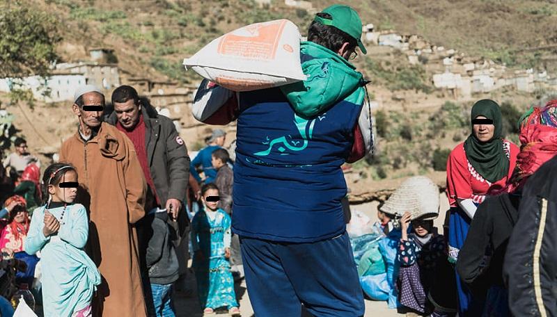 فيديو.. قافلة مساعدات جمعية البر للتنشيط الثقافي والاجتماعي لدوار أخفركا بإقليم تارودانت