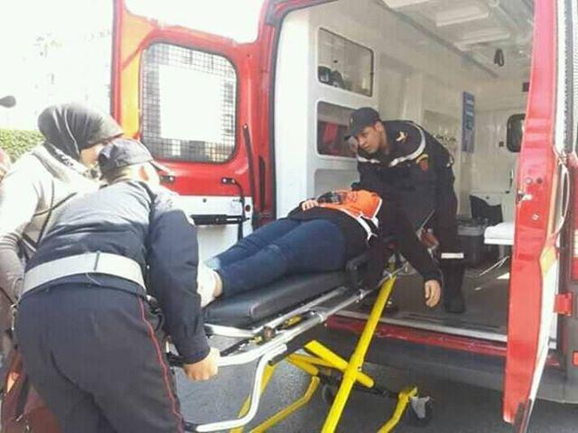 بالصور.. أساتذة الزنزانة 9 يحتجون بالرباط وإصابات في صفوفهم بعد تدخل أمني