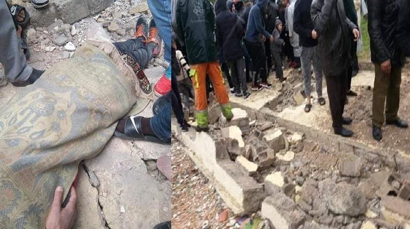 وفاة تلميذين وجرح آخرين بسبب سقوط سور إحدى مدارس مدينة فاس بسبب الرياح العاتية