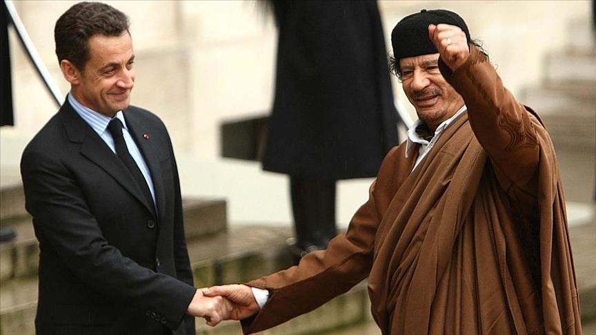 السنوسي: ساركوزي استلم 8 ملايين دولار من القذافي لتمويل حملته الانتخابية عام 2007