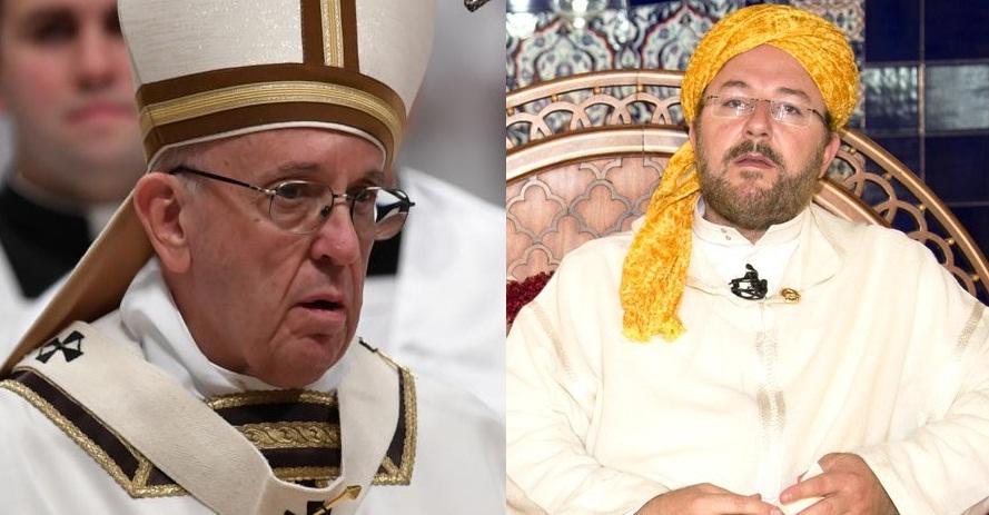 حمزة الكتاني يطالب بابا الفاتيكان قبل مجيئه للمغرب بالاعتذار عما فعلته الكنيسة الكاثوليكية من قتل وطرد لملايين المسلمين من الأندلس