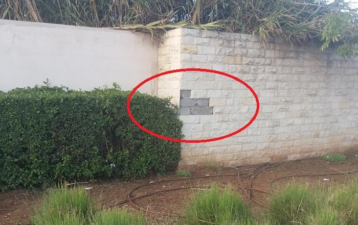 بالفيديو والصور.. سرقة الحجارة المزينة لجداريات كورنيش لكرينة قرب أقواس سيدي موسى بسلا