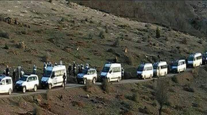 """احتجاجات بقرية """"تماسينت"""" بإقليم الحسيمة للمطالبة بالتنمية وإطلاق سراح الموقوفين"""