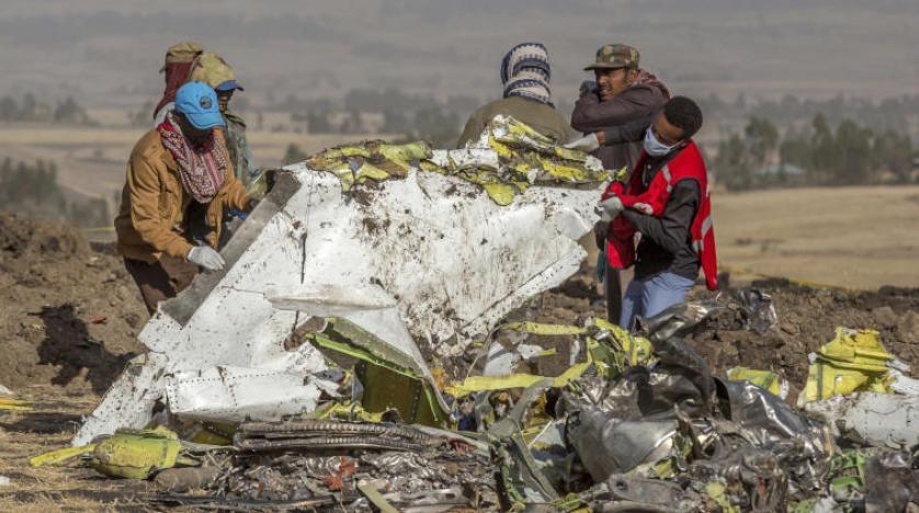 باريس تحقق في بيانات صندوقي الطائرة الإثيوبية