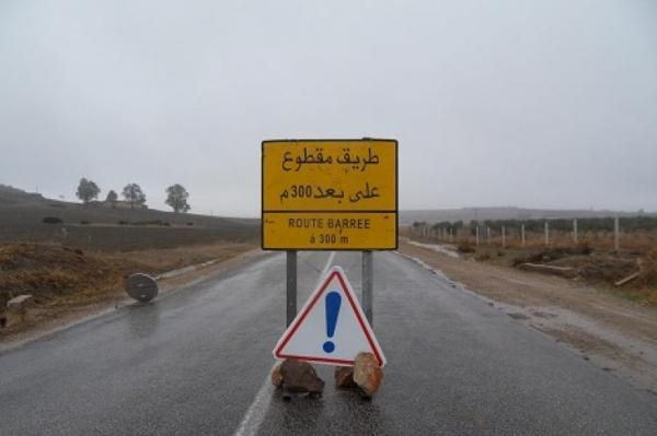 انقطاعات في حركة السير على بعض مقاطع الطريق الوطنية الرابطة بين مراكش وورزازات بفعل الأشغال
