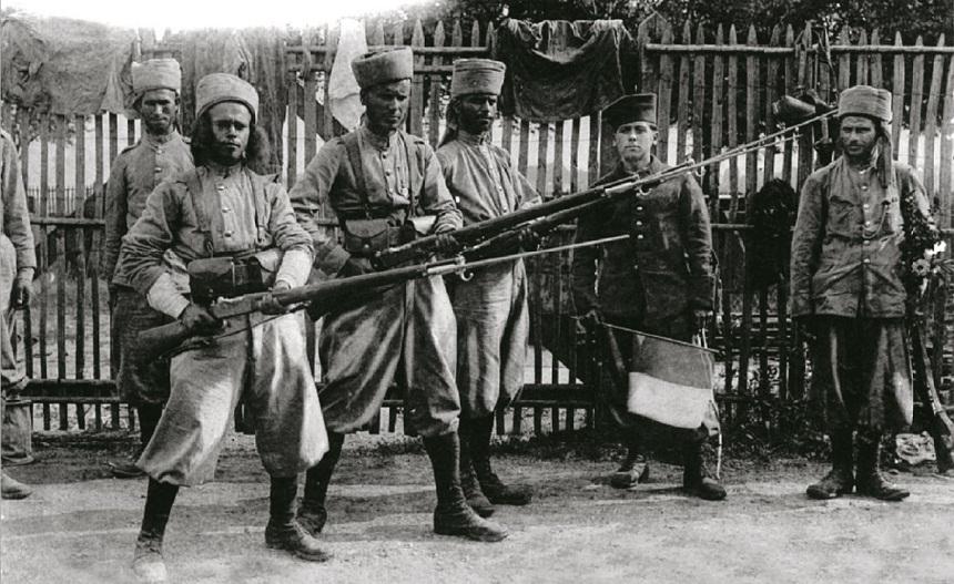 المغرب يُموِّن فرنسا في الحرب العالمية الأولى