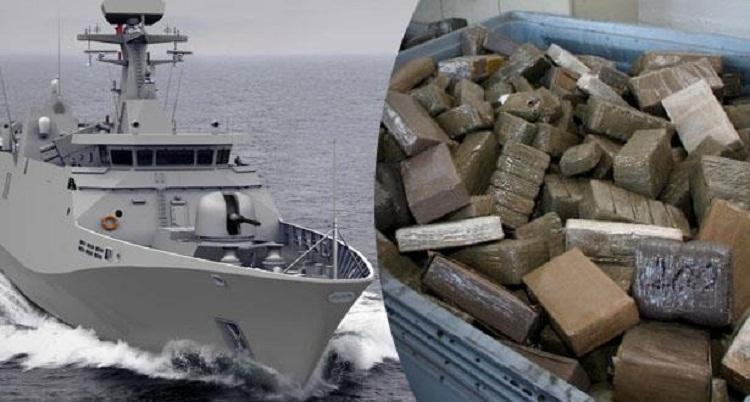 البحرية الملكية تحبط عمليتين كبيرتين لتهريب المخدرات بعد مطاردة دامت 40 دقيقة