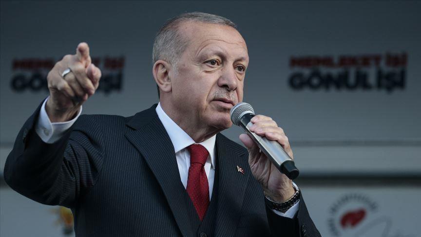 """أردوغان يعلق على هجوم """"هاناو"""" الإرهابي بألمانيا الذي كان من بين ضحاياه 5 أتراك"""