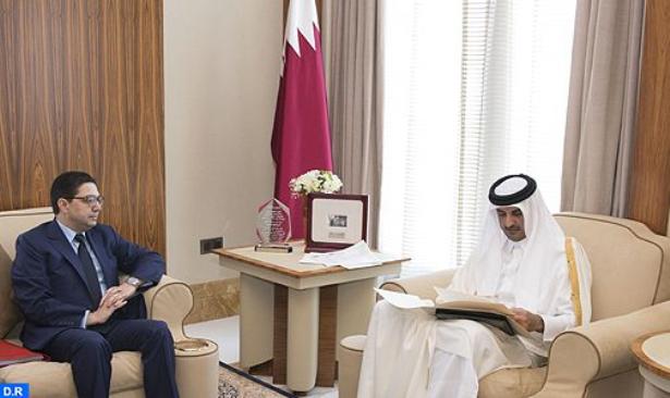 سفير دولة قطر يسلم نسخا من أوراق اعتماده لناصر بوريطة