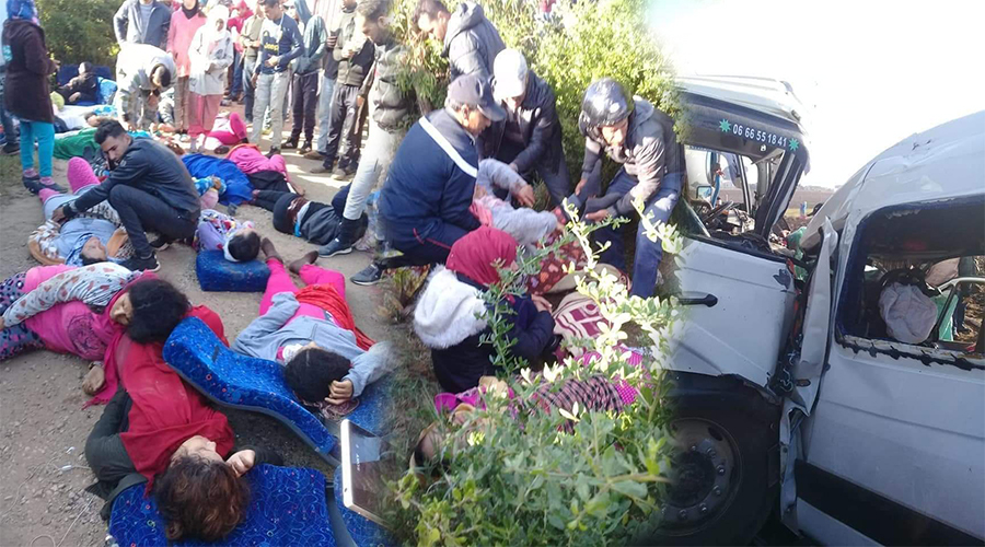 اعتقال سائق الشاحنة التي تسببت في فاجعة مولاي بوسلهام