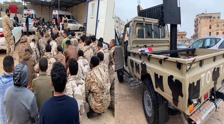 أسر العشرات من قوات حفتر في الزاوية قرب العاصمة الليبية