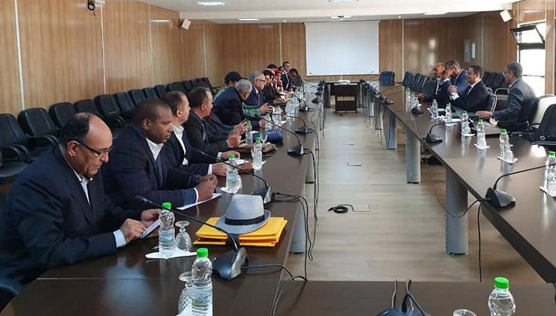 """هذه خلاصات جلسة الحوار الأولى بين وزارة التربية الوطنية و""""أساتذة التعاقد"""" (صور)"""