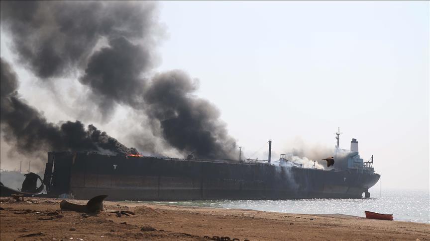 """""""عمليات تخريب"""" طالت سفن نفط بالخليج بينها ناقلتا نفط سعوديتان"""