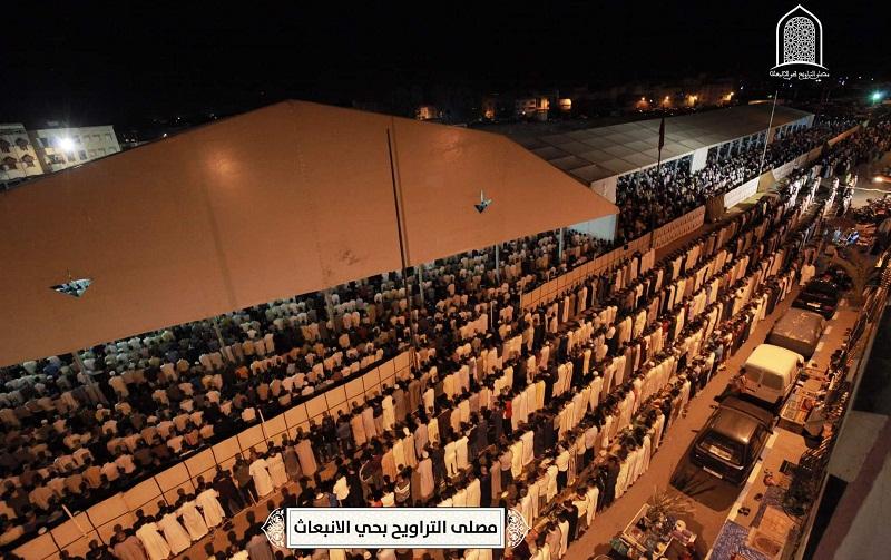 دعوة لقنوات الإعلام الوطني الرسمي لتغطية صلاة التراويح بمصلى حي الإنبعاث بسلا