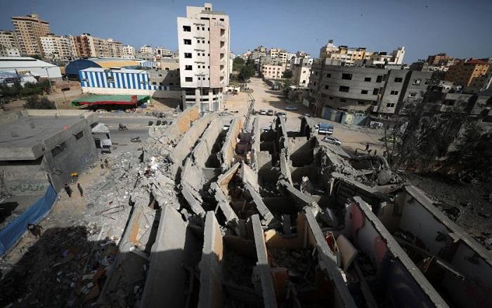 """الصهاينة دمروا 800 وحدة سكنية """"جزئيا وكليا"""" بغزة"""