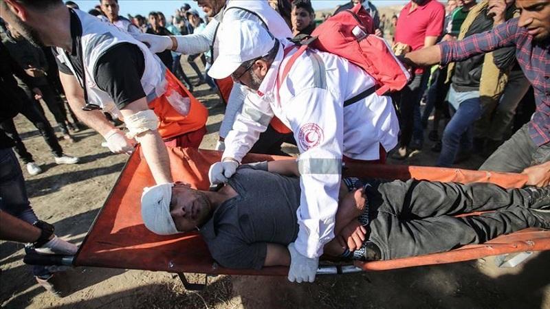 استشهاد 4 فلسطينيين وإصابة 51 آخرين بغزة
