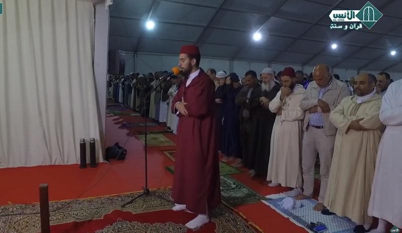 فيديو.. في أول ليلة من رمضان 1440هـ جموع غفيرة حجت لمصلى التراويح بحي الانبعاث سلا - المغرب