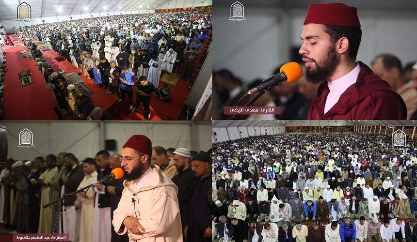 بالصور والفيديو.. هكذا كانت صلاة التراويح في أول ليلة من رمضان بمصلى حي الإنبعاث بسلا