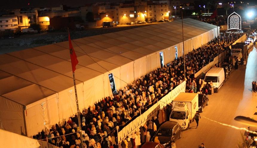 صورة.. إقبال كبير للنساء على مصلى التراويح حي الإنبعاث بسلا في الليلة الثانية من رمضان 1440هـ