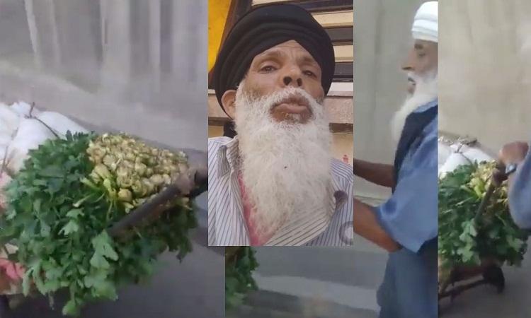 بالفيديو.. شيخ مسن يجر عربة خضاره من سوق الجملة إلى سوق المدينة القديمة بالبيضاء ينال تعاطف الناس