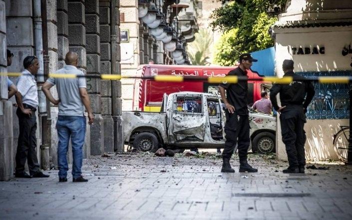 شخص يقدم على تفجير نفسه في تونس العاصمة دون وقوع ضحايا