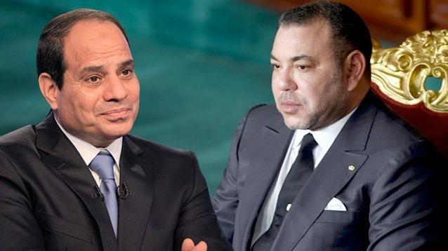 """الملك يراسل السيسي: """"مرتاحون لما يجمع بلدينا من علاقات أخوية متينة"""""""