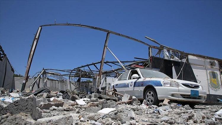 الأمم المتحدة ترجح تورط مقاتلات أجنبية بهجوم مركز إيواء المهاجرين بطرابلس