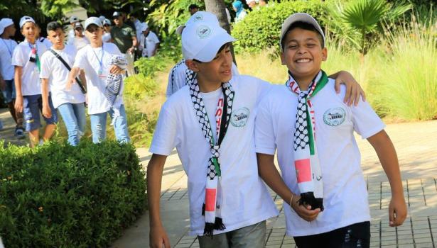 أطفال مقدسيون يصلون إلى المغرب للمشاركة في المخيم الصيفي الثاني عشر