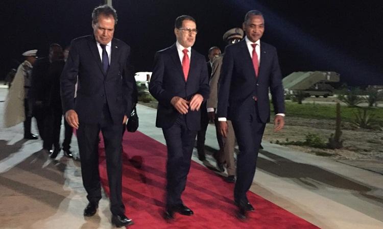 العثماني يحل بموريتانيا لحضور حفل تنصيب رئيسها الجديد محمد ولد الغزواني