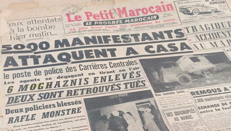 جرائم فرنسا بالمغرب (إطعام الوطنيين التبن)