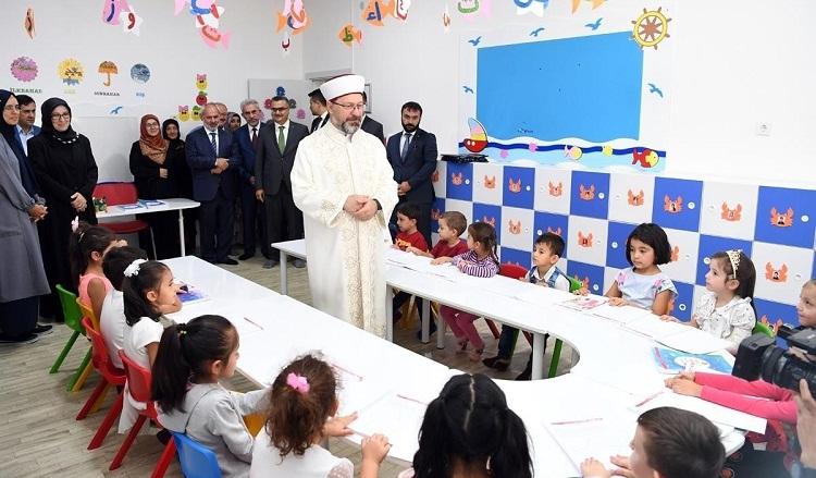 تركيا تفتتح العام الدراسي الجديد لتعليم القرآن الكريم للأطفال