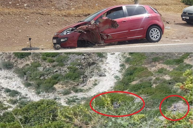 فيديو.. حادثة سير خطيرة في طريق الشفشاون وسقوط سيارة في منحدر عميق