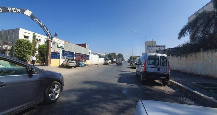 إغلاق الحي الصناعي بسلا وتفشي البطالة والإجرام (صور)