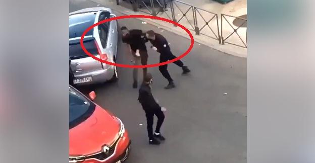 فيديو.. تعامل عنصري من طرف الشرطة الفرنسية وإطلاق نار على رجل أسود