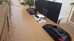 صورة.. من فيضانات إسبانيا التي خلفت خسائر مادية ضخمة جدا