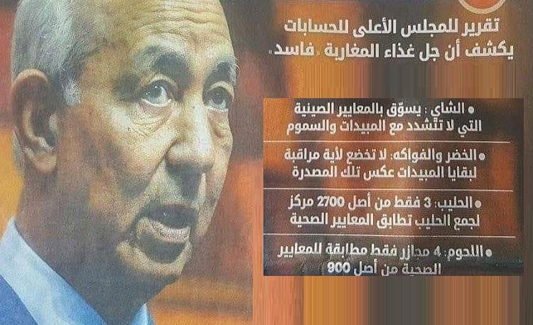 سخط فيسبوكي على المعلومات الخطيرة لتقرير جطو فيما يخص تهديد صحة المغاربة