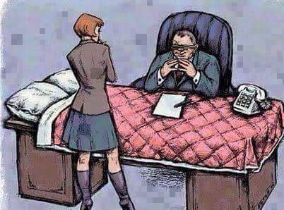 كاريكاتير.. التحرش الجنسي