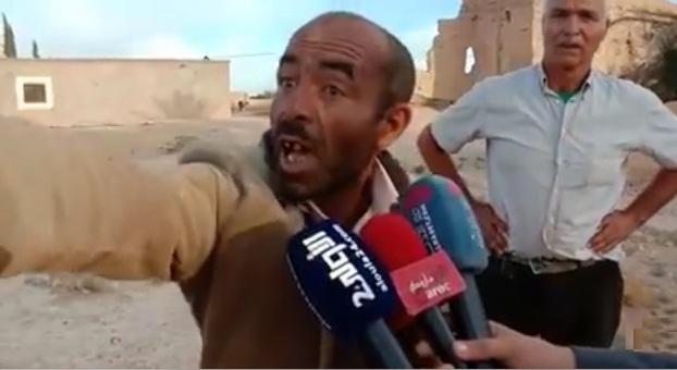 فيديو.. كلمة قاسية لفلاح مغربي كادح يشتكي من شدة الإهمال لدرجة انعدام وجود الماء