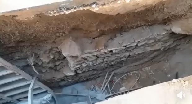 فيديو.. اكتشاف سور أثري بمنطقة باب بوحاجة بسلا أثناء أعمال حفر تمديد قناة