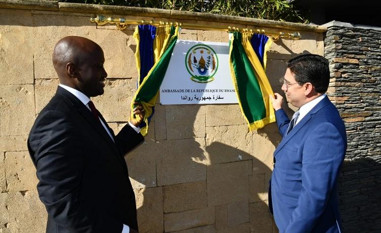 الرباط .. تدشين سفارة رواندا بالمغرب